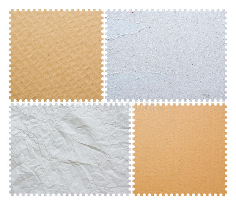 Blank Post Stamp Stock Photos