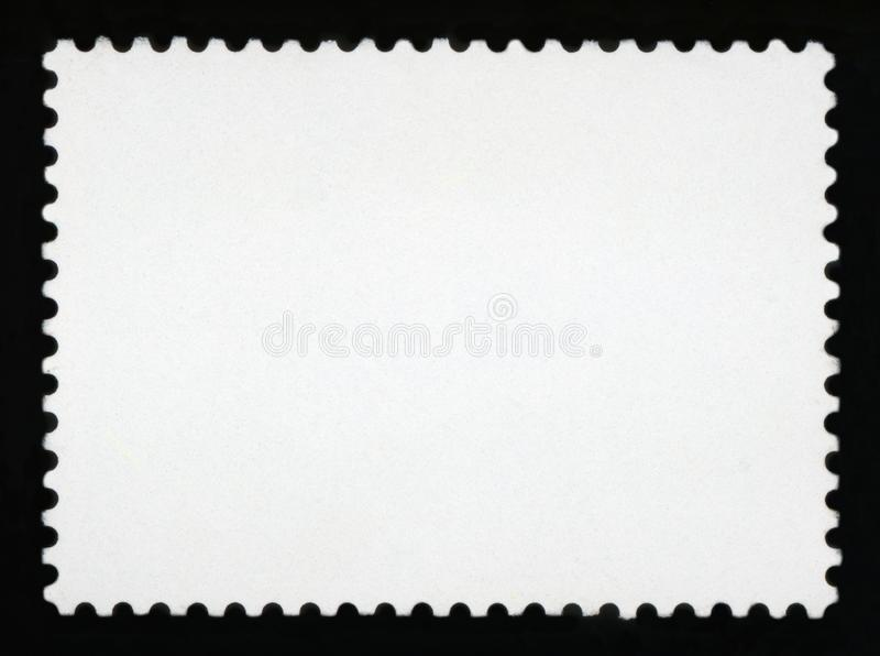 Blank postage stamp background royalty free stock photos