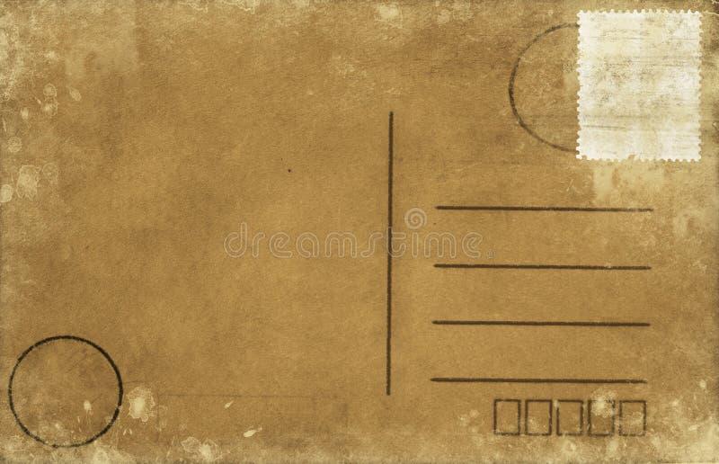Blank postcard royalty free illustration