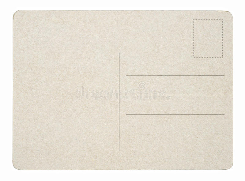 Download Blank postcard stock photo. Image of backgrounds, card - 24714020
