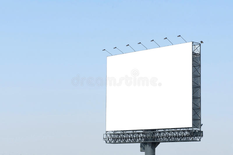 Blank poster board wall out side modern shopping mall. Blank poster board wall out side the modern shopping mall royalty free stock photography