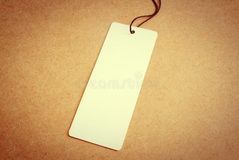 Blank price tag label stock photos