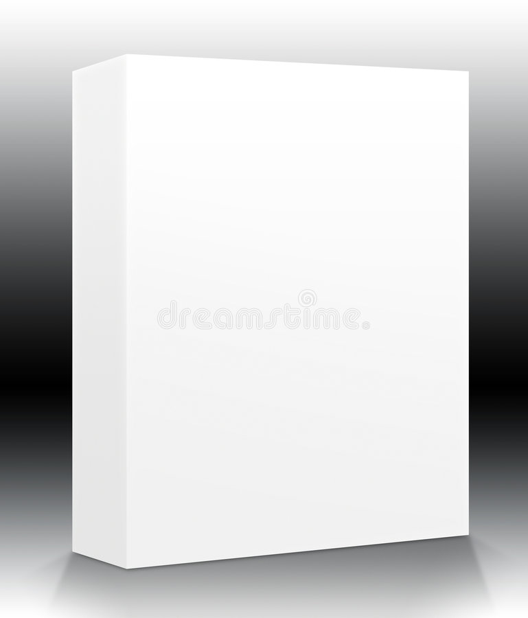 Download Blank Product Box stock illustration. Image of ebox, copy - 1103322