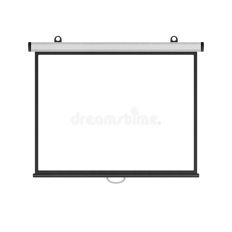 Blank Projector Screen Stock Illustrations 1 185 Blank
