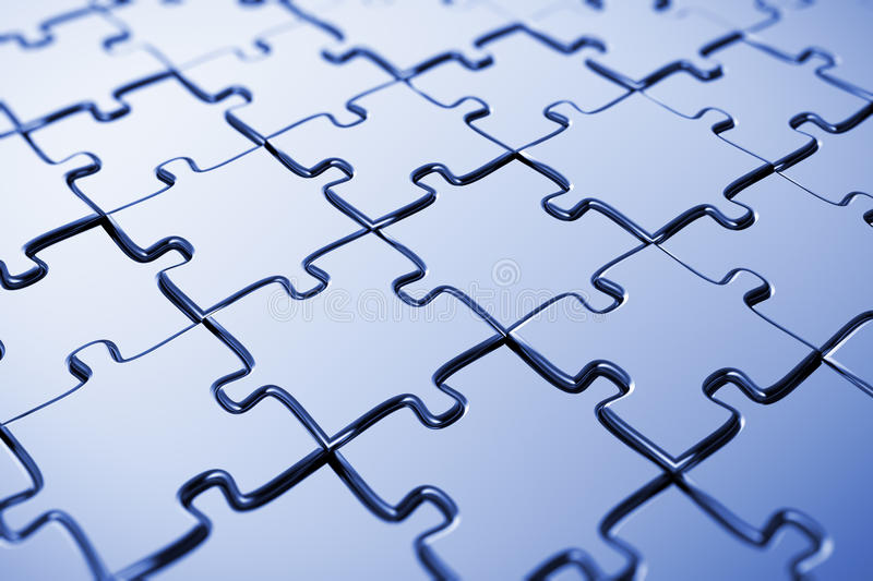 Download Blank puzzle stock photo. Image of blank, metaphor, link - 15003148