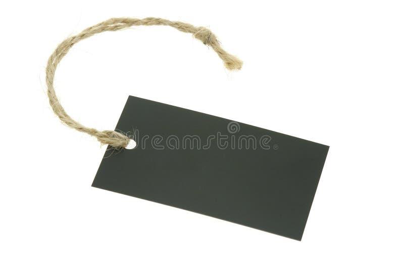 blank rad för bast för etikettpapper royaltyfria foton