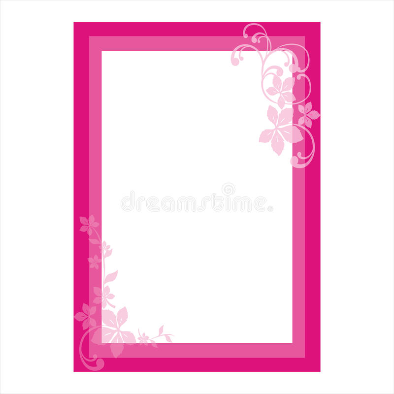 blank ram royaltyfri illustrationer