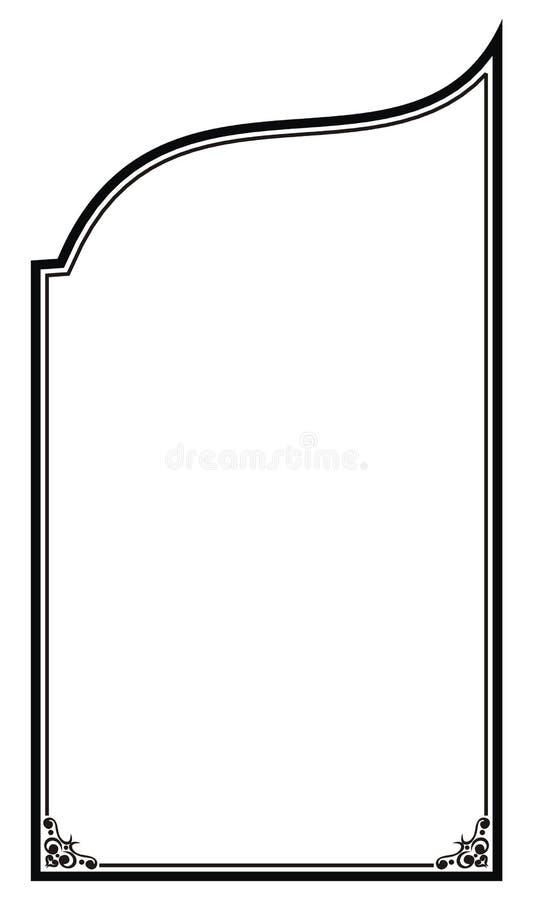 blank ram arkivbild