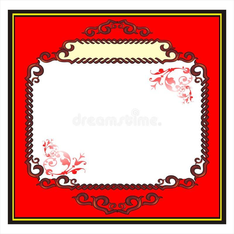 blank ramen royaltyfri foto