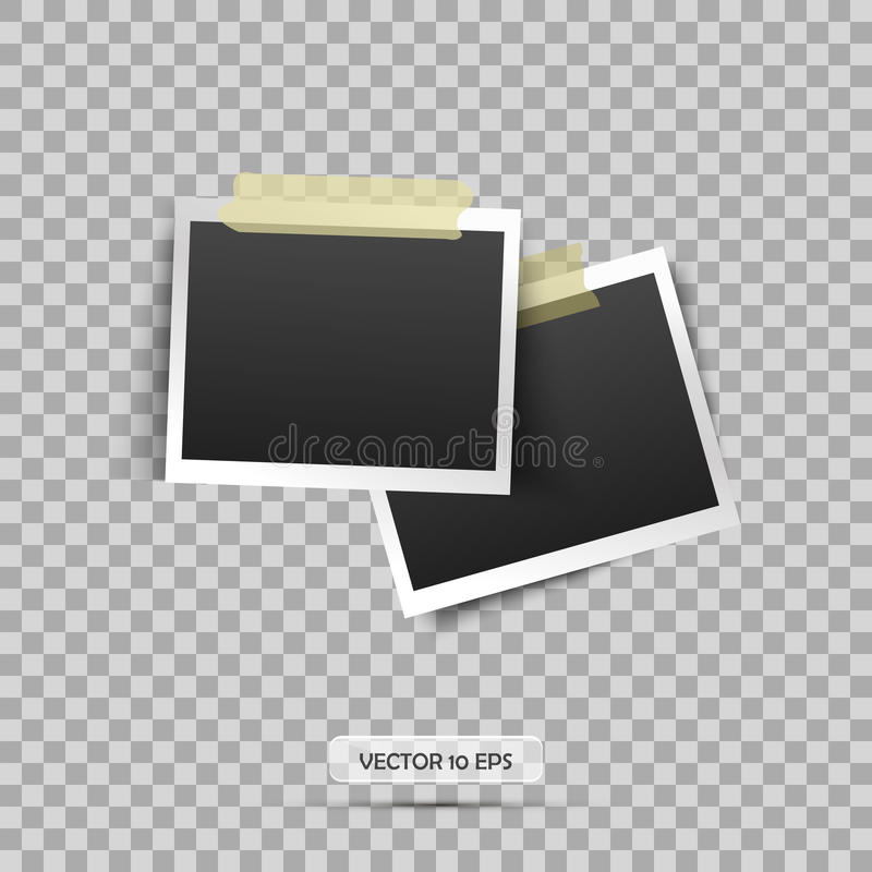 blank ramowej zdjęcie Wektorowa ilustracja, eps 10 ilustracyjny retro stylu wektoru rocznik Miejsce dla twój teksta ilustracja wektor