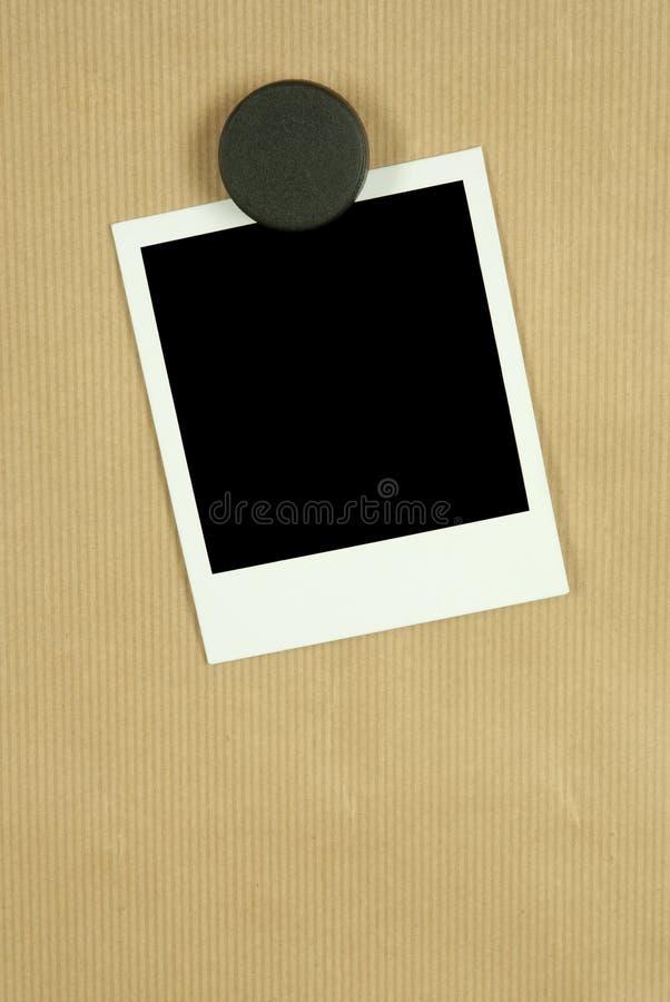 blank rampolaroid royaltyfria bilder