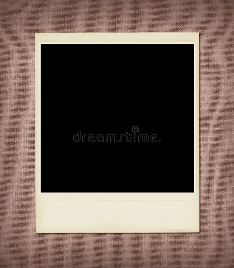 blank rampolaroid fotografering för bildbyråer