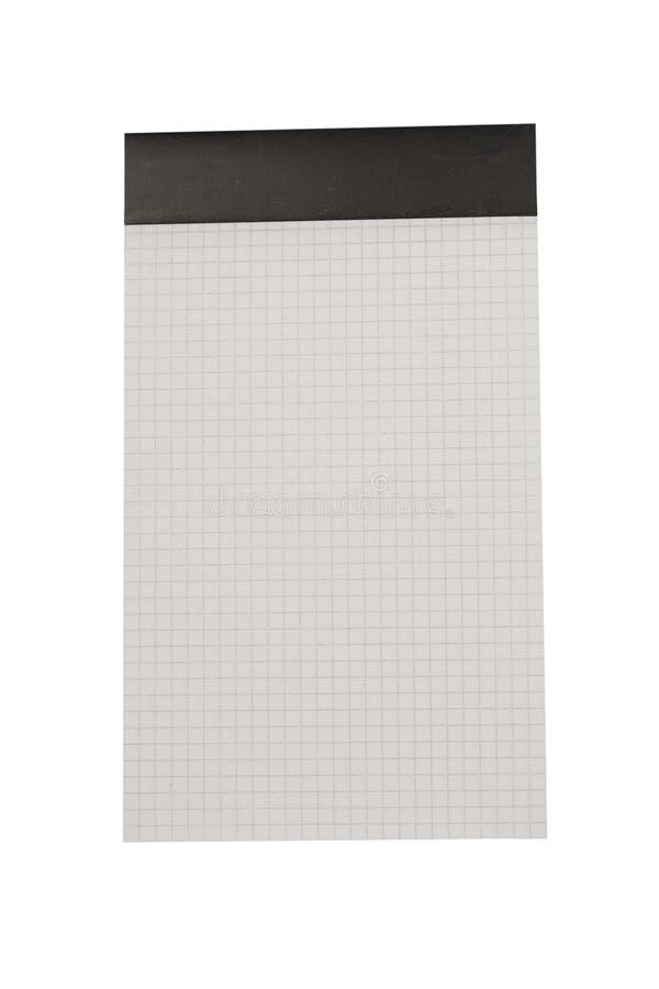 blank rasteranteckningsboksida arkivfoton