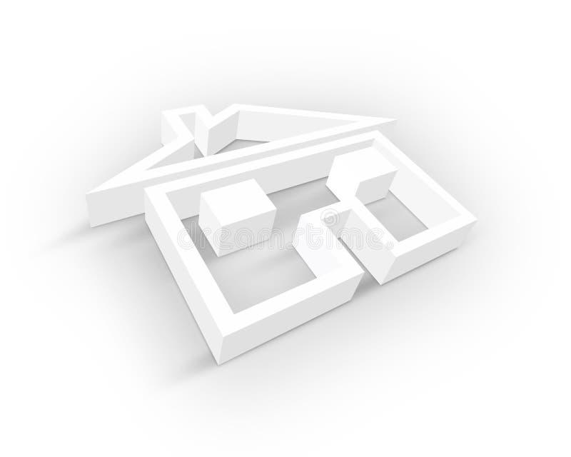 Download Blank Real Estate symbol stock illustration. Image of background - 10363028