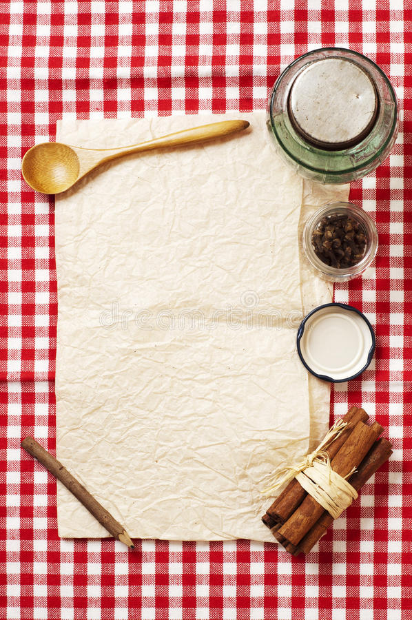 Download Blank Recipe Card Royalty Free Stock Image - Image: 28557706