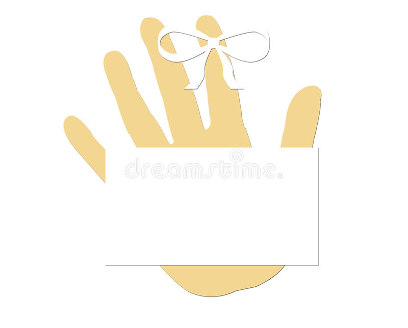 Download Blank Remember Concept Finger Ribbon Stock Photo - Image: 28880828