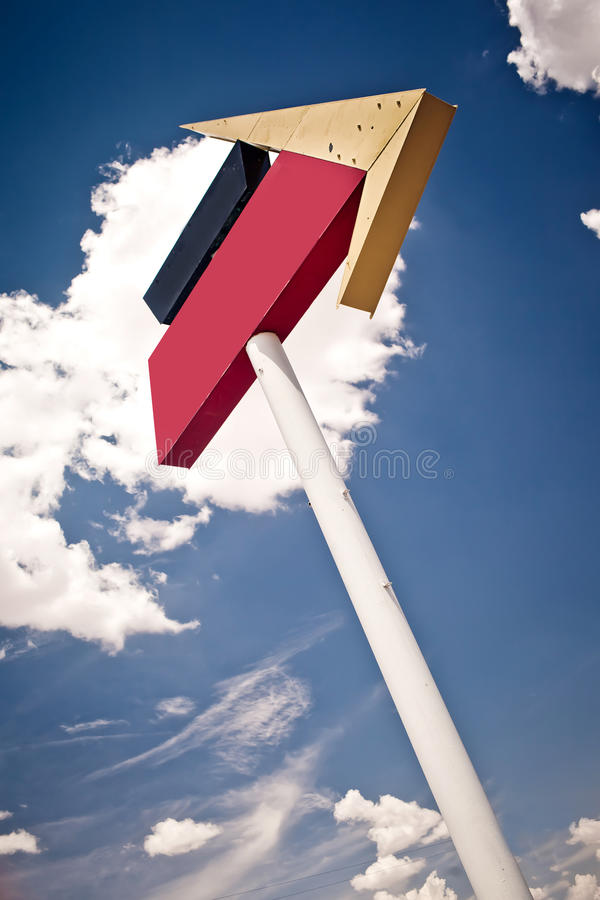Download Blank road direction sign stock image. Image of exit - 23286329