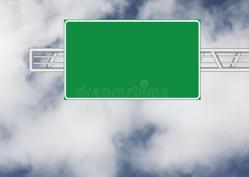 Blank road sign royalty free stock photos