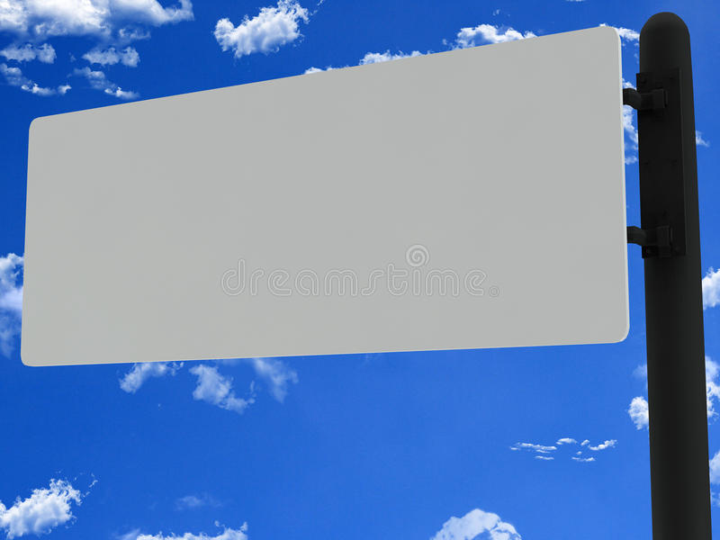 Download Blank road sign stock image. Image of crossroads, phrase - 33983509