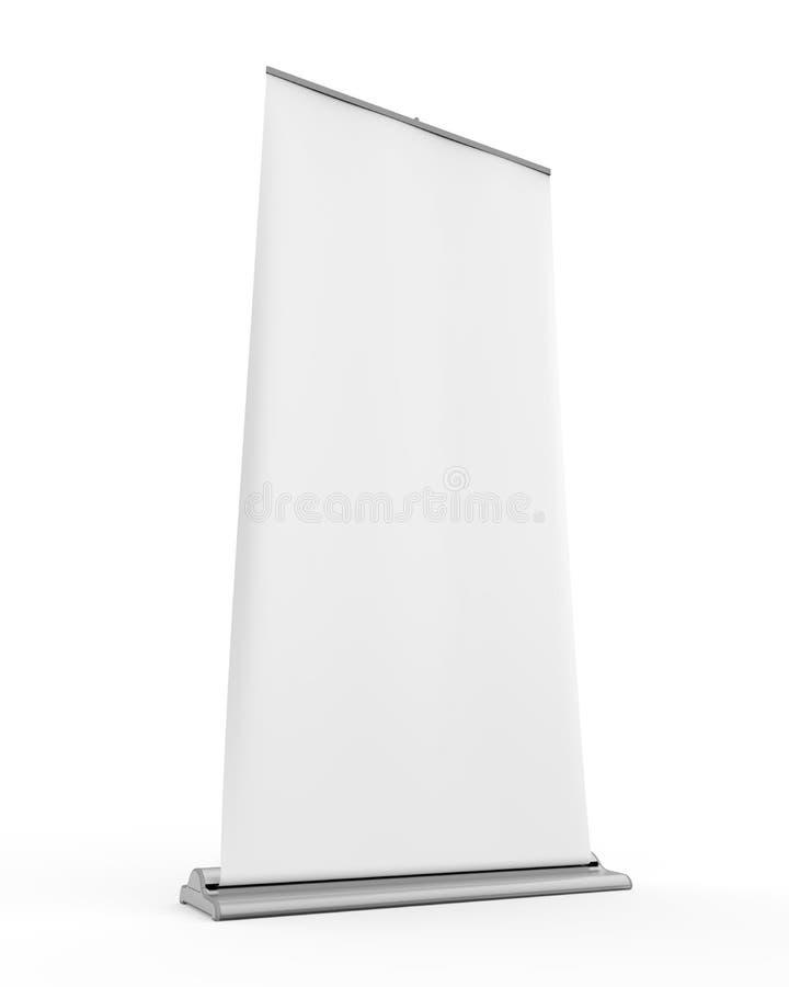 Download Blank Roll Up Display Banner Stock Illustration - Image: 30860817