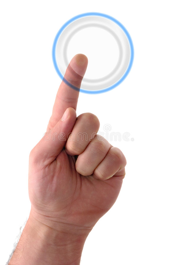 Download Blank Round Button stock image. Image of ideas, keypad - 2302773