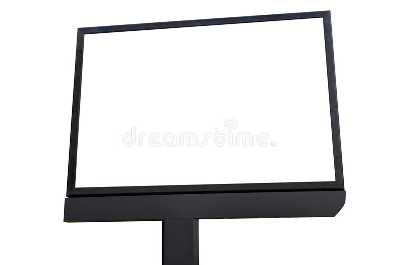 Blank screen billboard for outdoor advertising poster. Blank screen billboard for outdoor advertising poster, blank billboard for advertisement ,metaphor royalty free stock image