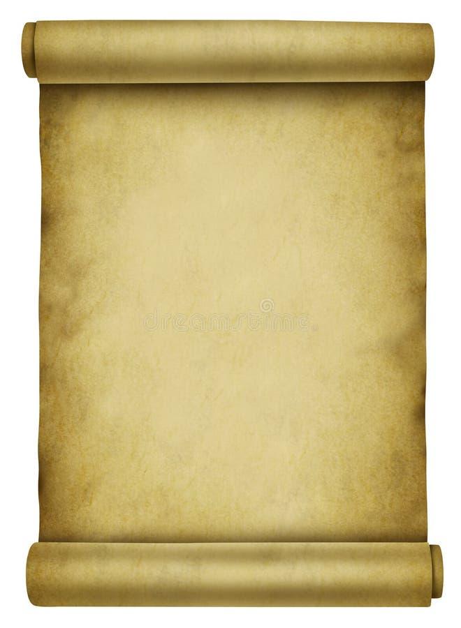 Download Blank Scroll stock illustration. Illustration of sandy - 24326659