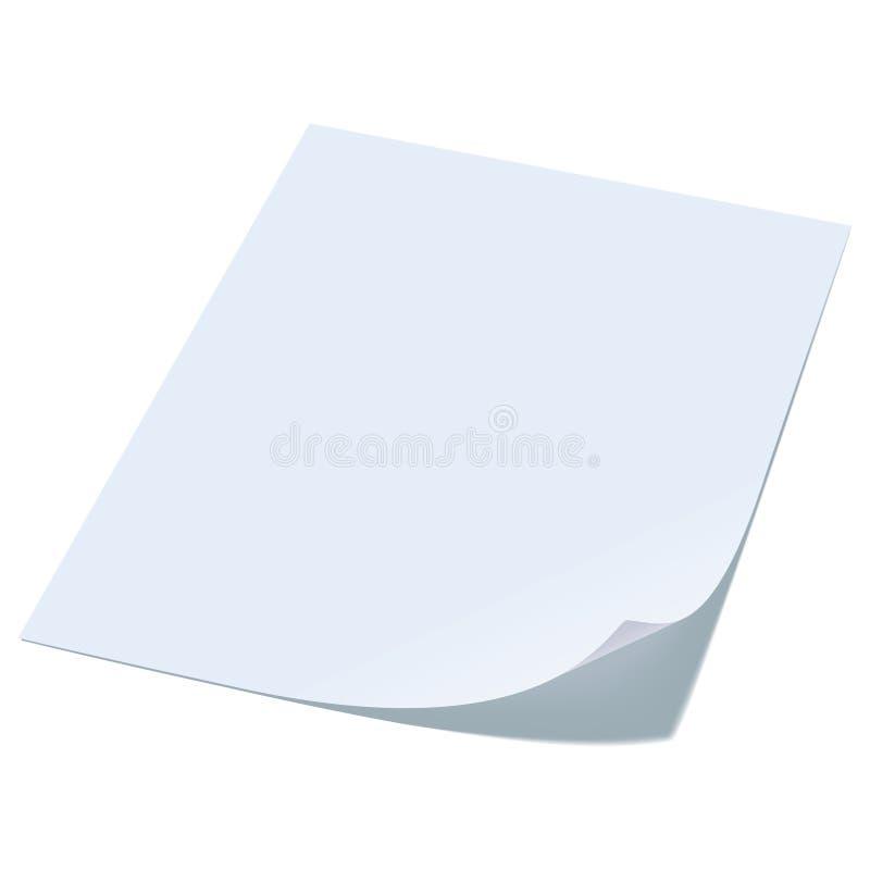 Download Blank sheet of paper. stock vector. Illustration of mesh - 23902863