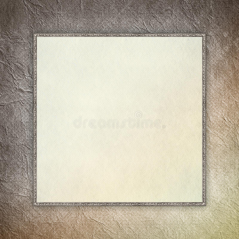 Download Blank Sheet In Picture Frame Stock Illustration - Illustration of double, scrapbook: 39509490