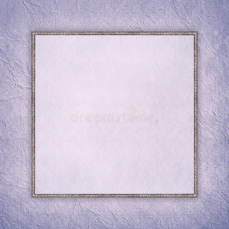 Download Blank Sheet In Picture Frame On Paper Background Stock Photo - Image of vintage, paper: 39515448