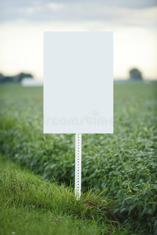 Download Blank Sign stock image. Image of farm, beans, agricultural - 11319567