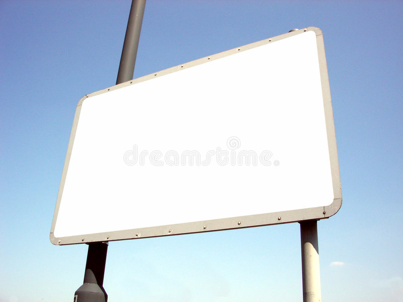 Download Blank Sign stock image. Image of promote, clear, frame - 115765
