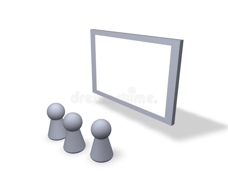 Download Blank sign stock illustration. Illustration of empty, exhibition - 1422762