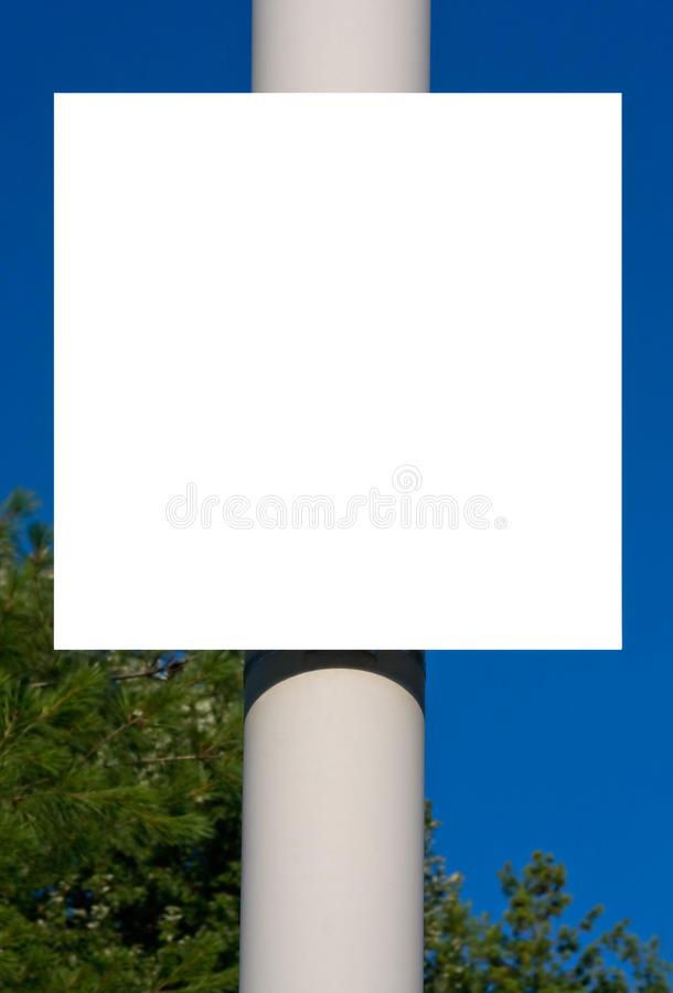 Free Blank Sign Royalty Free Stock Photos - 15150598