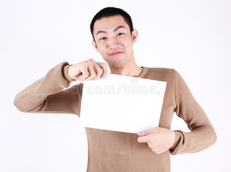 Download Blank sign stock image. Image of male, adult, people - 31158523