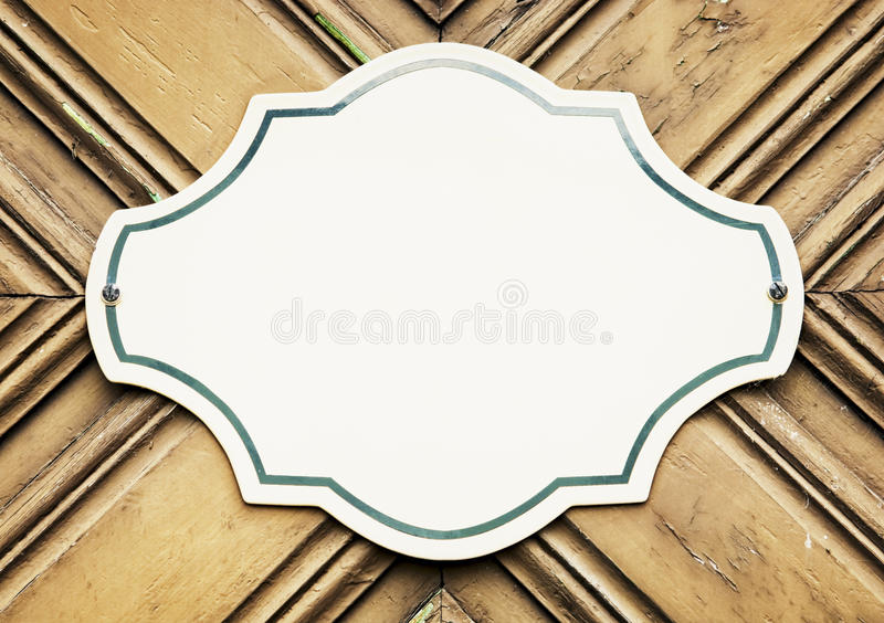 Download Blank sign stock image. Image of metal, iron, fashioned - 34769255