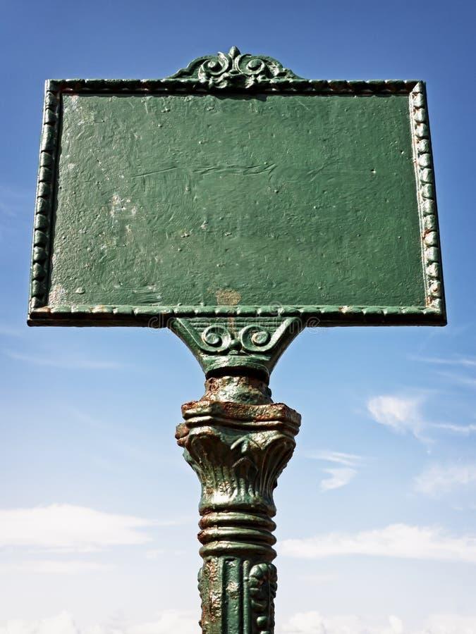 Download Blank sign stock photo. Image of iron, luxury, medium - 34780514