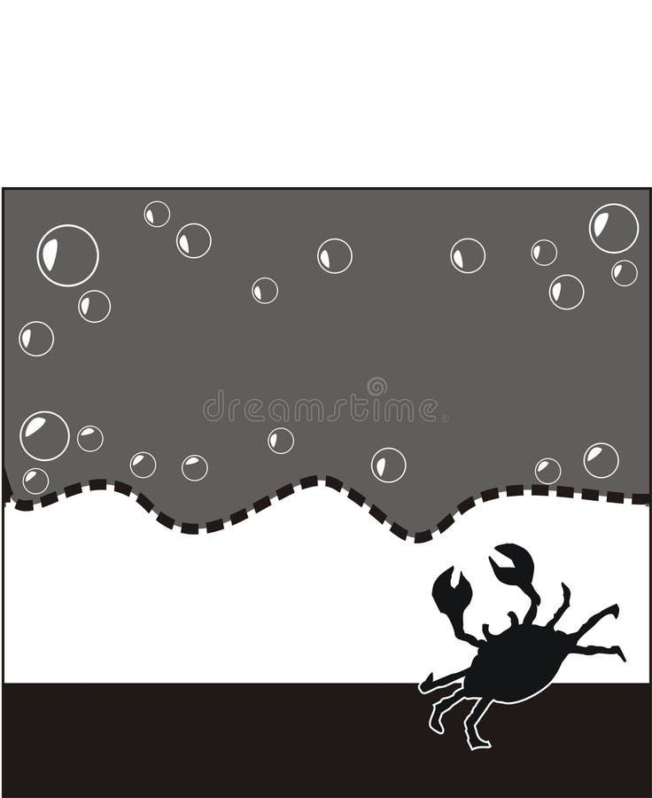 Blank Skaldjur För Annons Arkivbild