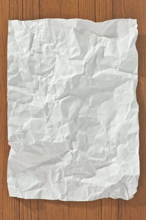 Download Blank skrynkligt papper arkivfoto. Bild av vitt, medf8ort - 19789566