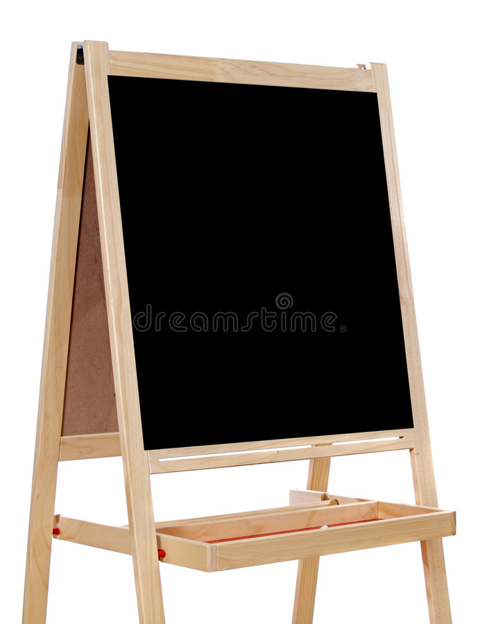 Blank slate stock photo