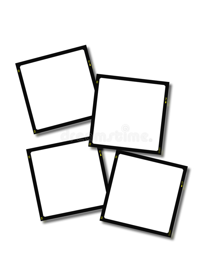 Download Blank Slides - 35mm stock illustration. Illustration of scrapbook - 142509