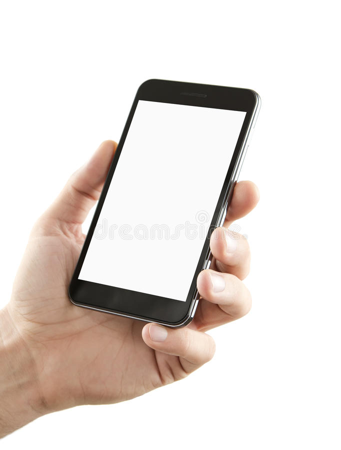 Download Blank Smart Phone With Clipping Path Stock Image - Image: 26839077