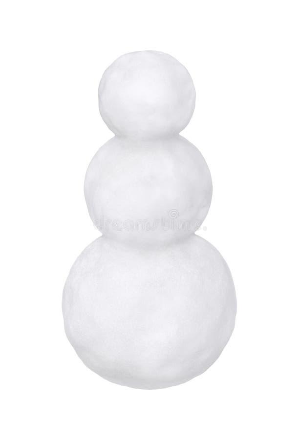 Download Blank snowman fotografering för bildbyråer. Bild av säsongsbetonat - 27284395