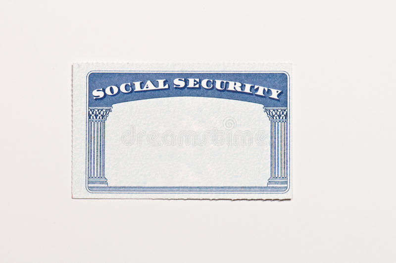 blank social security card template download blank social security card stock image image of document 20624