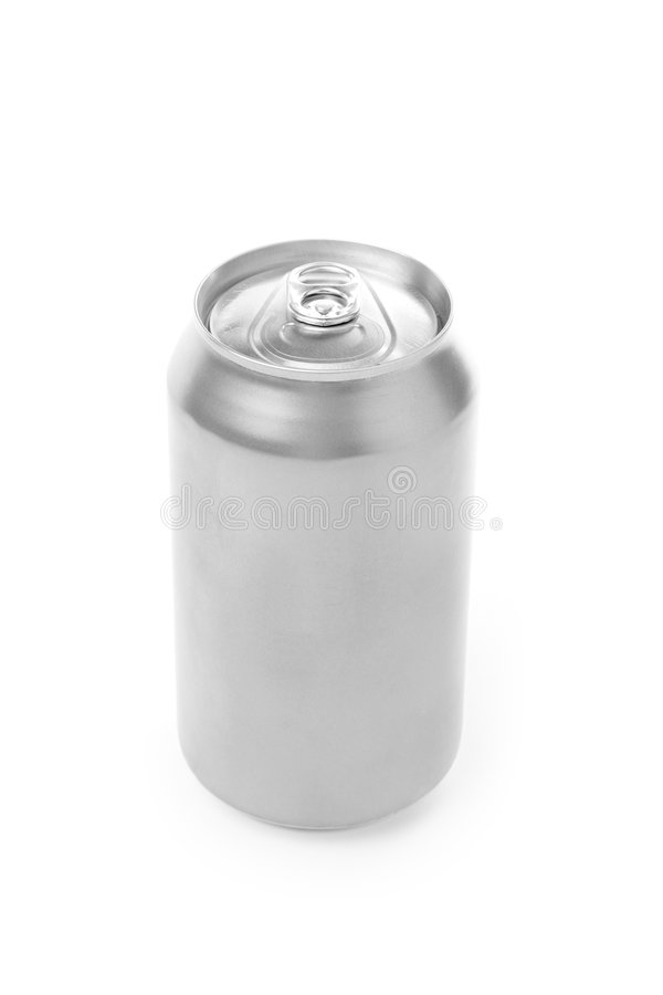 Blank soda can royalty free stock images