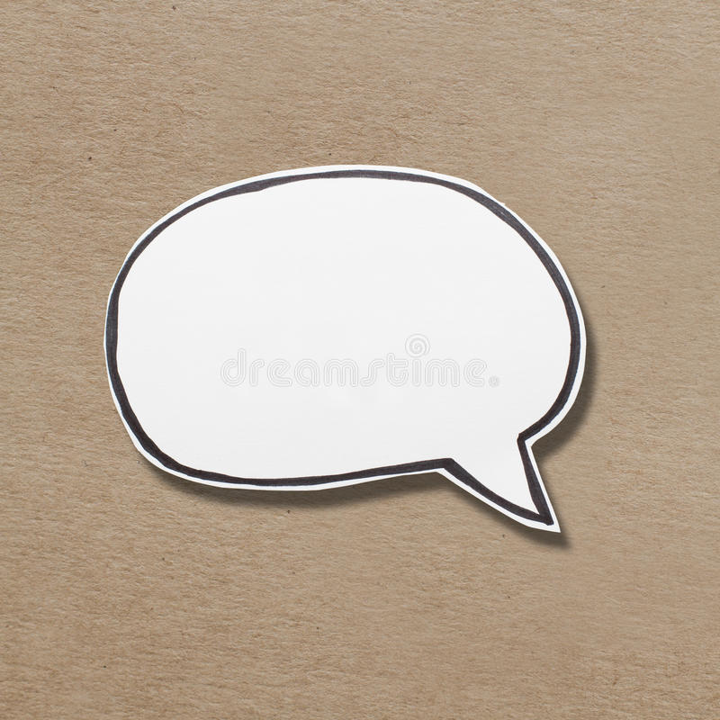 Blank speech bubble royalty free stock photos