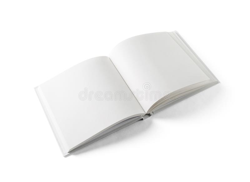 Blank square book royalty free stock images
