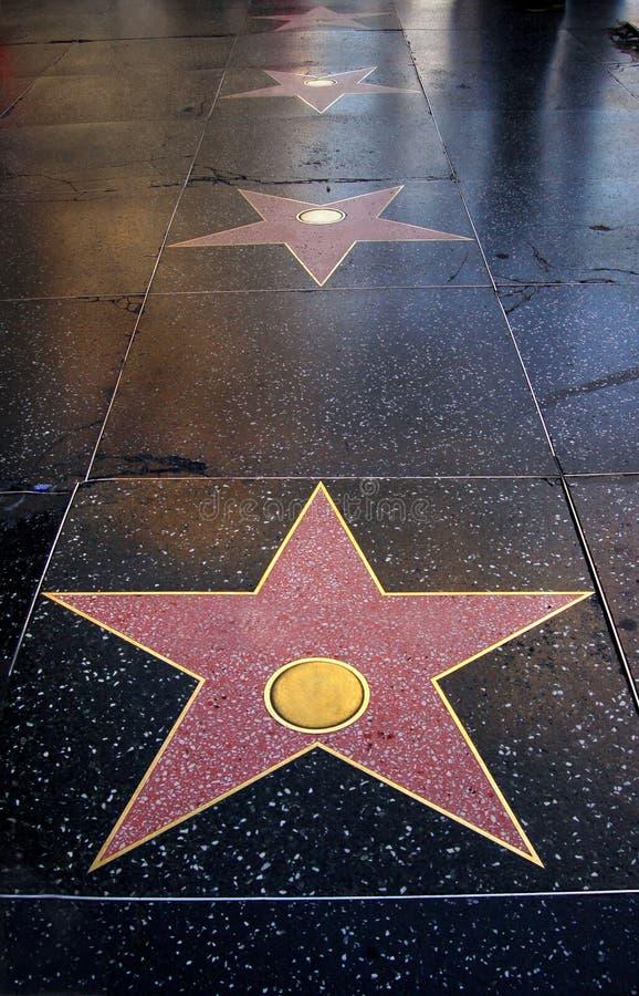 Blank Stars Royalty Free Stock Photos
