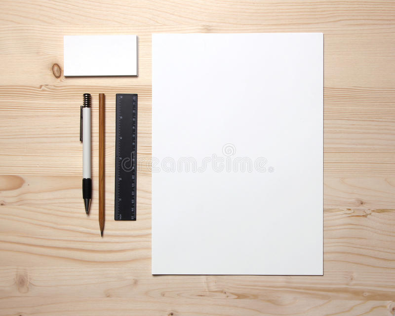 Download Blank stationery stock photo. Image of life, student - 23950162