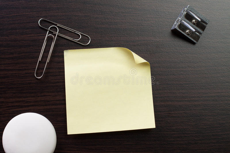 Blank sticker and stationery